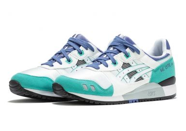 ASICS Gel Lyte III White Teal Blue 30th Anniversary Release Date
