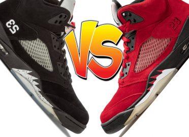Air Jordan 5 Metallic vs Air Jordan 5 Raging Bull