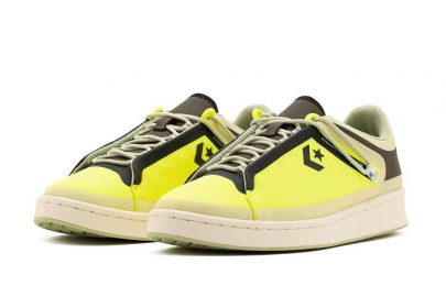 Converse Seam Tape Pro Leather Low Lemon Venom Black Release Date