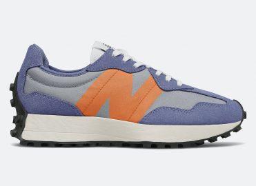 New Balance 327 Magnetic Blue Varsity Orange Release Date