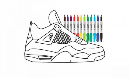 """La Air Jordan 4 """"DIY"""" est entièrement personnalisable."""