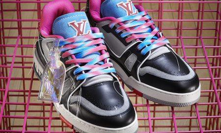 Les nouvelles chaussures LV de Virgil sont fabriquées à partir de vieilles chaussures Louis Vuitton