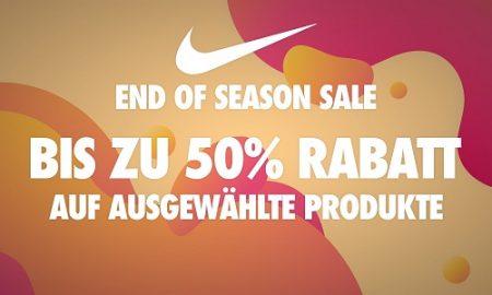 Nike End of Season Sale – bis zu 50% Rabatt