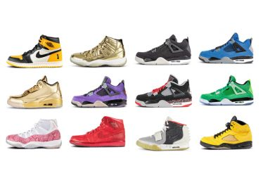 Vente aux enchères de sneakers aériens rares chez Sotheby's