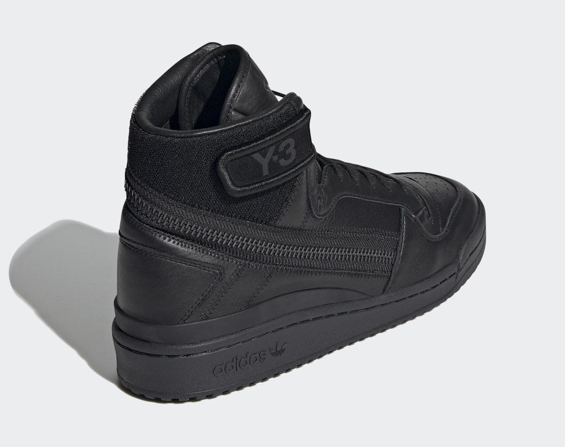 Date de sortie adidas Y-3 Forum Hi OG Noir GZ8795