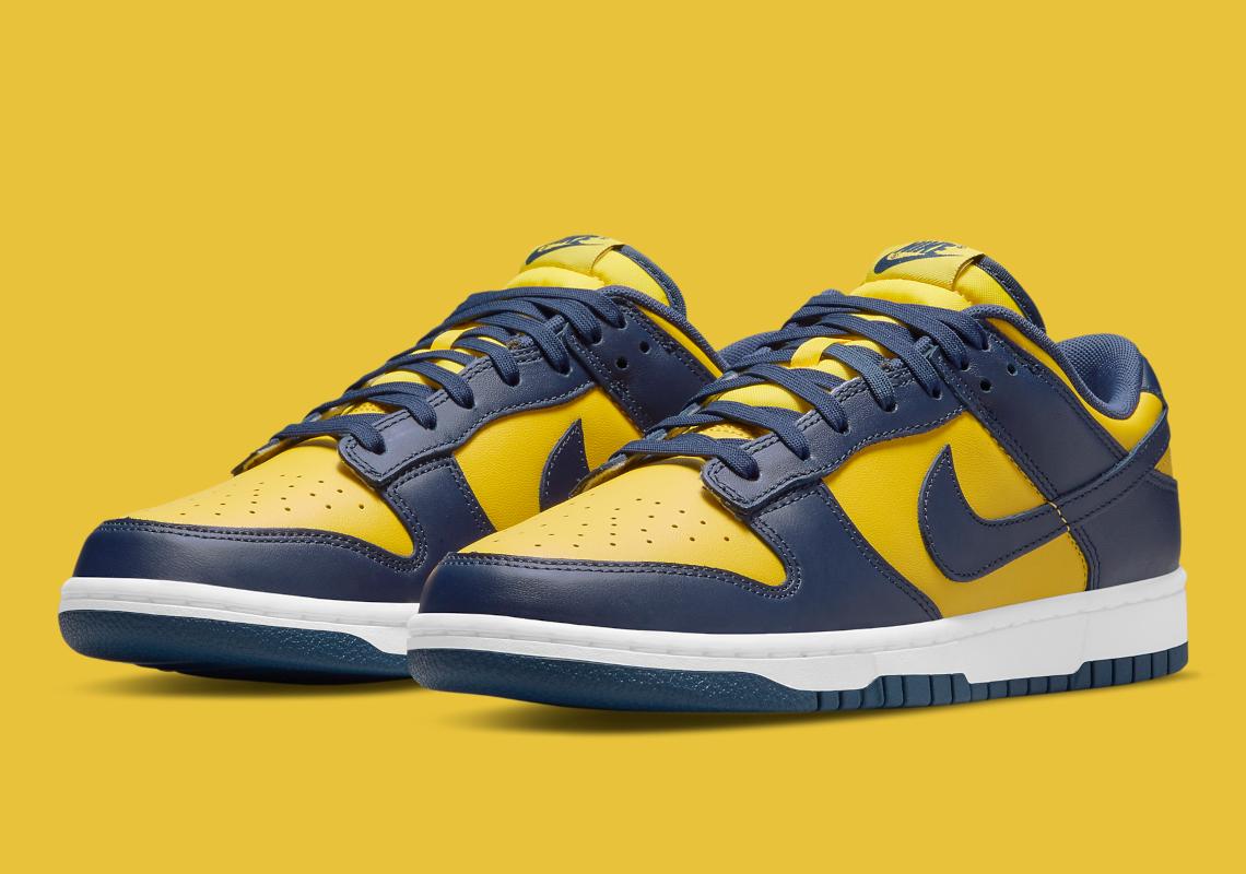Date de sortie du Nike Dunk Low Michigan DD1391-700